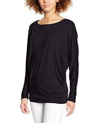 Camiseta de manga larga negra de Madonna