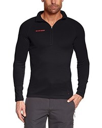Camiseta de manga larga negra de Mammut