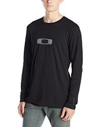 Camiseta de manga larga negra de Oakley