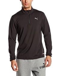 Camiseta de manga larga negra de Puma