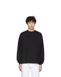 Camiseta de manga larga negra de Random Identities