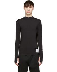 Camiseta de manga larga negra de Satisfy