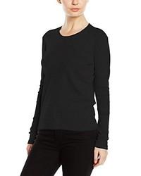 Camiseta de manga larga negra de Stedman Apparel