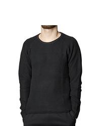 Camiseta de manga larga negra de Suit