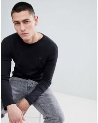 Camiseta de manga larga negra de Tommy Jeans