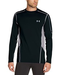 Camiseta de manga larga negra de Under Armour