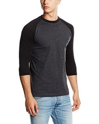 Camiseta de manga larga negra de Urban Classics