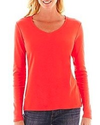 Camiseta de manga larga roja original 1284927