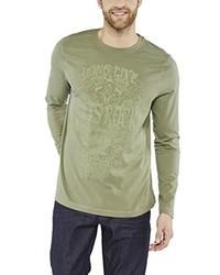 Camiseta de manga larga verde oliva de Colorado Denim