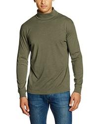 Camiseta de manga larga verde oliva de Daniel Hechter