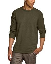 Camiseta de manga larga verde oliva de Eddie Bauer