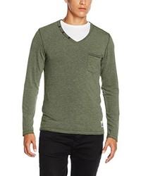 Camiseta de manga larga verde oliva de s.Oliver