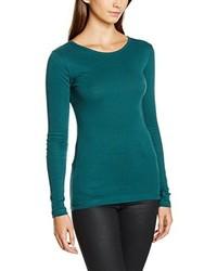 Camiseta de manga larga verde de Dorothy Perkins