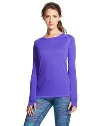 Camiseta de manga larga violeta original 2043879