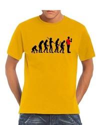 Camiseta Dorada de Touchlines