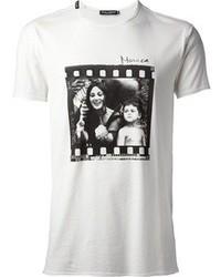 Camiseta en blanco y negro