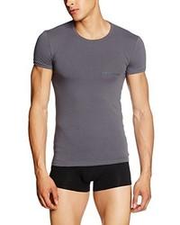 Camiseta en gris oscuro de Emporio Armani
