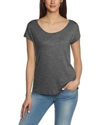 Camiseta en gris oscuro de Pieces