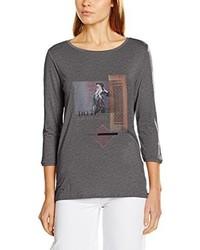 Camiseta en gris oscuro de s.Oliver