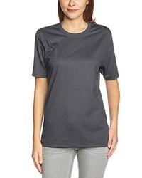 Camiseta en gris oscuro de Trigema