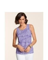 Camiseta en violeta