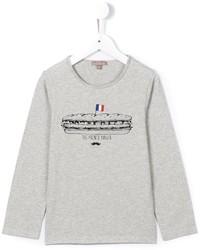 Camiseta estampada gris de Emile et Ida