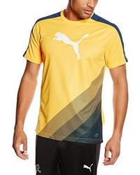 Camiseta estampada naranja de Puma