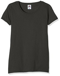 Camiseta Gris Oscuro de Fruit of the Loom