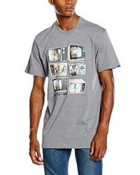Camiseta gris de Vans