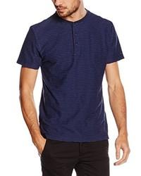 Camiseta henley azul marino de Tommy Hilfiger