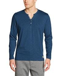 Camiseta henley azul de Tom Tailor