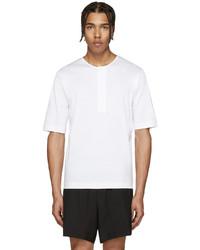 Camiseta henley blanca de Lemaire