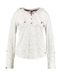 Camiseta henley blanca de Ragwear Plus