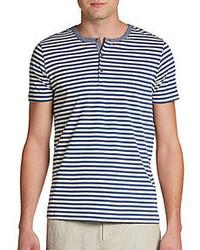 Camiseta henley de rayas horizontales original 2604600