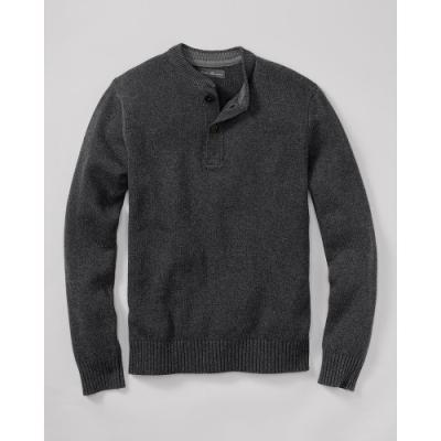 Camiseta henley en gris oscuro de Eddie Bauer