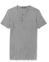 Camiseta henley gris original 2601555