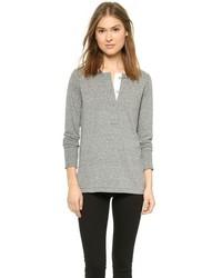 Camiseta henley gris de Current/Elliott