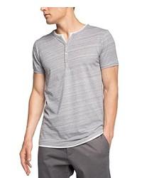 Camiseta henley gris de Esprit