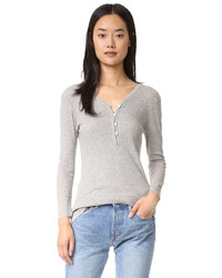 Camiseta henley gris de James Perse
