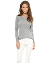 Camiseta henley gris de Nili Lotan