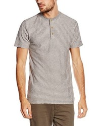 Camiseta henley gris de Tommy Hilfiger