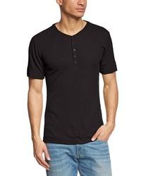 Camiseta henley negra de super natural