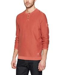 Camiseta henley roja de camel active