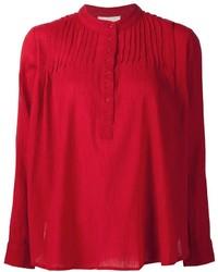 Camiseta henley roja de The Great