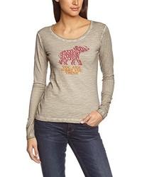 Camiseta marrón claro de C.P.M.