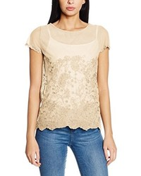 Camiseta Marrón Claro de Nougat London