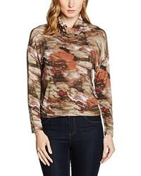 Camiseta marrón claro de Roberto Verino