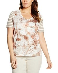 Camiseta marrón claro de Samoon