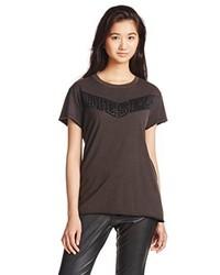 Camiseta Marrón Oscuro de Diesel
