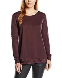 Camiseta Marrón Oscuro de Stefanel